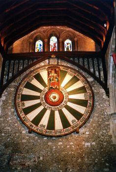 The round table, Knights of the round table, Winchester - England ~ I miss this trip, glad I got to see these sights! Winchester England, Winchester Castle, King Henry, Henry Viii, King Arthur, Mists Of Avalon, Legend Of King, Tudor Rose, England Ireland