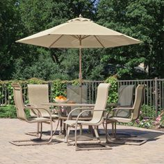 Patio Furniture With Umbrella For Sunny Summer Days    Http://www.thefamilyyak