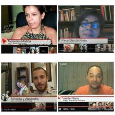 Hangout como cada lunes, esta vez hablamos del #workshop celebrado en Peniche Portugal de habla española, todos coinciden en lo mismo... FANTÁSTICO!!!