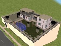 zombie safe house - perfect for living in South Africa Zombie Apocalypse Survival, Zombie Apocolypse, Survival Mode, Survival Shelter, Survival Prepping, Survival Skills, Zombie Apocalypse House, Urban Survival, Zombie Proof House