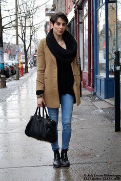 Nathalie Da Costa. Repéré à Montréal par Anik Lacasse Richard.