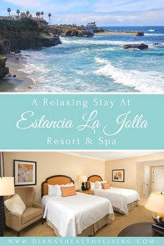 A beautiful hacienda-style resort is nestled between La Jolla and Del Mar.  Close to all attractions.  #VisitCalifornia #California #LaJolla #beach #iamtb #magicalplace #luxurygetaway