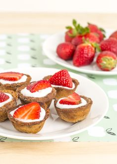 This sugar free Swedish Strawberry Tart recipe is perfect for healthy eating inspiration