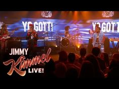 White Friday, Yo Gotti, Jimmy Kimmel Live, Lucci, Last Night, No Worries, Stage, Artists, Concert