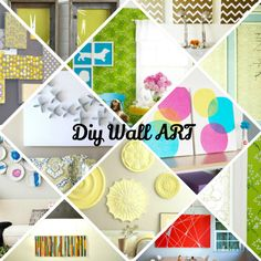 Wall Art Ideas – 20 DIY Models For Your Dream Home