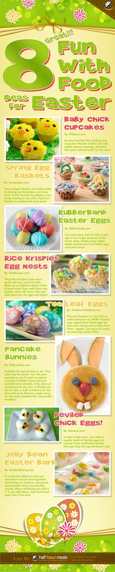 8 Fun Easter Food Ideas for Kids!