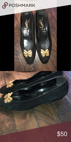 8e05e41b2df Vintage YSL Shoes These shoes are a size 10 vintage Saint Laurent . Used  but in