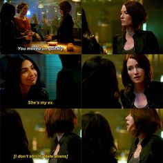 """""""She's my ex"""" - Maggie and Alex #Supergirl"""