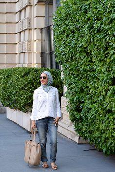 Summer Style in NYC-Boyfriend Jeans-Hijabi Blogger-Muslim…
