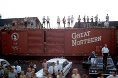 RFK: Funeral Train USA Tour , 1968 by Paul Fusco Photograph