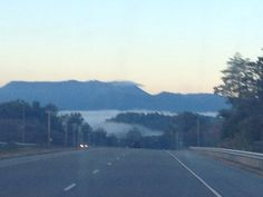My drive to work... Welcome to Newport, TN... So pretty