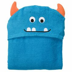 Monster Hooded Towel