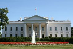 the white house | This White House Picture shows the front of the White House, which ...