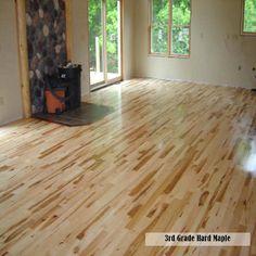 3rd Grade Hard Maple Flooring made in Birnamwood, WI   Woodstock Hardwood Flooring