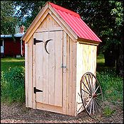 Outhouse Tool Shed?