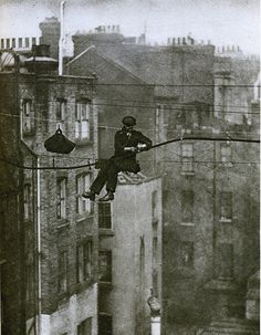 Telephone engineer, London, 1920's.