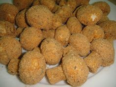 Maryam's Culinary Wonders: 248. Baked Breaded Mushrooms