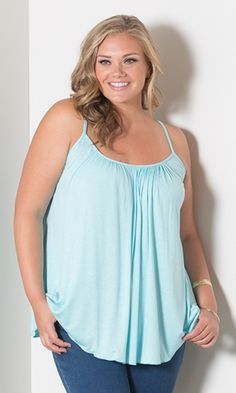 Pretty Cami (Sweet Shades) $29.90 by SWAK Designs #swakdesigns #PlusSize #Curvy