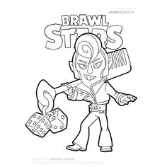 You are in the right place about Brawl Stars Coloring Pages Here we offer you the most beautiful pic Star Coloring Pages, Boy Coloring, Coloring Books, Star Citizen, Blow Stars, Super Easy Drawings, Star Character, Dark Souls, League Of Legends