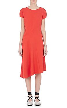 Asymmetric Paneled Dress