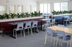 Niipperi elementary school design by Sistem Interior Architects Interior Architects, School Design, Elementary Schools, Design Projects, Conference Room, Interior Design, Table, Furniture, Home Decor