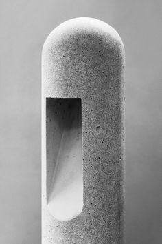 Concrete lamp - Rick owens