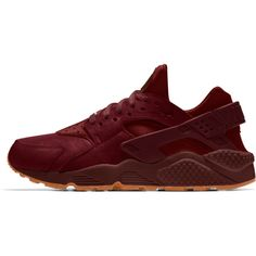 Nike Air Huarache Premium Will Leather Goods iD Shoe. Nike.com ($190) ❤ liked on Polyvore featuring shoes