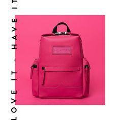 Si buscas una mochila con un diseño único, ya la encontraste 👆 es de @hunterboots