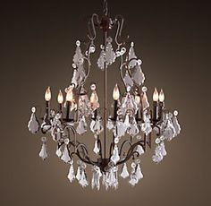 Fall over old lamps florian mercury glass chandelier all ceiling lighting rh aloadofball Choice Image