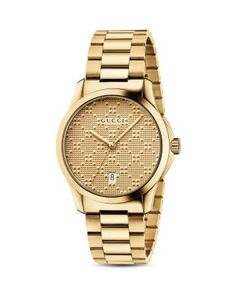 9bae0b5cb76 Gucci Unisex Swiss G-Timeless Gold-Tone PVD Stainless Steel Bracelet Watch  Jewelry   Watches - Watches - Macy s