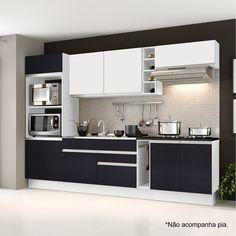 Quer deixar a sua casa mais elegante? Esta cozinha é perfeita! <br /><br /><br />#decoração #design #madeiramadeira #cozinha #Madesa