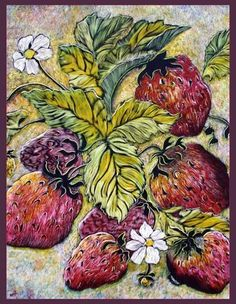 EBSQ AOTD 07/24/2013 - Strawberries and blossoms by Naquaiya