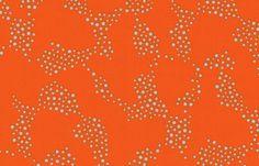 Juicy Orange 100 cotton fabric 1 yard x 44 inches by mountainhoney, $9.00