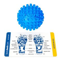 Footstar Massage Balls 4-Pack - Pain and Spasm Reliever - Plantar Fasciitis Treatment