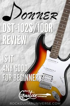 For anyone that is looking to buy themselves (or for someone) the first guitar, they probably thought of Donner. The company offers numerous deals for such a low price that it is nearly impossible to miss. Now, the main question is whether these guitars are any good. Discovering a guitar for $150 seems like it's too good to be true, and here, I will review Donner DST-102R. This way, you will get to know all the pros and cons, and whether the guitar is worth the money. #guitar #electricguitar Play Guitar Chords, Guitar Songs, Acoustic Guitar, Guitar Lessons For Beginners, Music Lessons, Guitar Kits, Guitar Amp, Guitar Reviews, Singing Tips