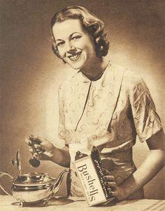 1930s Bushells Tea advertisement (by Bess Georgette)