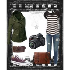 """Veronica Mars inspired"" by teresa-anne on Polyvore"