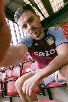 Jack Grealish, Soccer Guys, Villa Park, Aston Villa, Football Kits, Tennis Players, Eye Candy, Chelsea, Goats