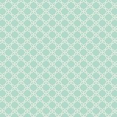 Geometric Trellis Wallpaper in Soft Blue design by Carey Lind for York Wallcoverings