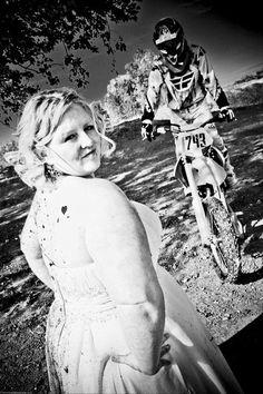 Dirt Bike Trash The Dress