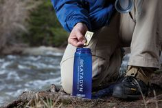 Katadyn Micropur water purification tablets.  Only $9.95 to make safe water anywhere you travel!