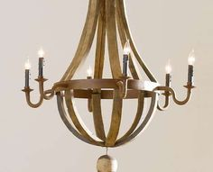 Recycled Chandeliers