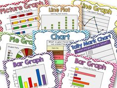 FREE graphing posters for your first or second grade classroom!