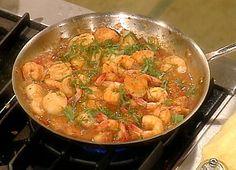 Venetian Shrimps and Scallops recipe