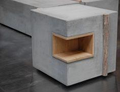 ZATARA: Furniture Made of Concrete and Driftwood Photo