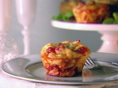 Giada De Laurentiis uses muffin tins to make these individual Linguine and Prosciutto Frittatas.