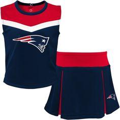 Patriots Cheerleaders, Patriots Fans, Nfl New England Patriots, Run Disney Costumes, Running Costumes, Red Two Piece, Cheerleader Costume, Cheerleading, Gym Shorts Womens