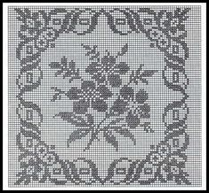 Only Crochet Patterns Part 6 Crochet Bedspread Pattern, Crochet Quilt, Crochet Cushions, Crochet Cross, Crochet Squares, Crochet Home, Crochet Motif, Crochet Designs, Crochet Stitches