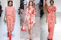 Pantone Fashion Color Report Spring-Summer 2018: Blooming Dahlia // Модные цвета весна-лето 2018: Blooming Dahlia