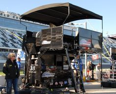 2016 Sprint Cup Series pit boxes Wednesday, March 9, 2016 No. 38 Landon Cassill